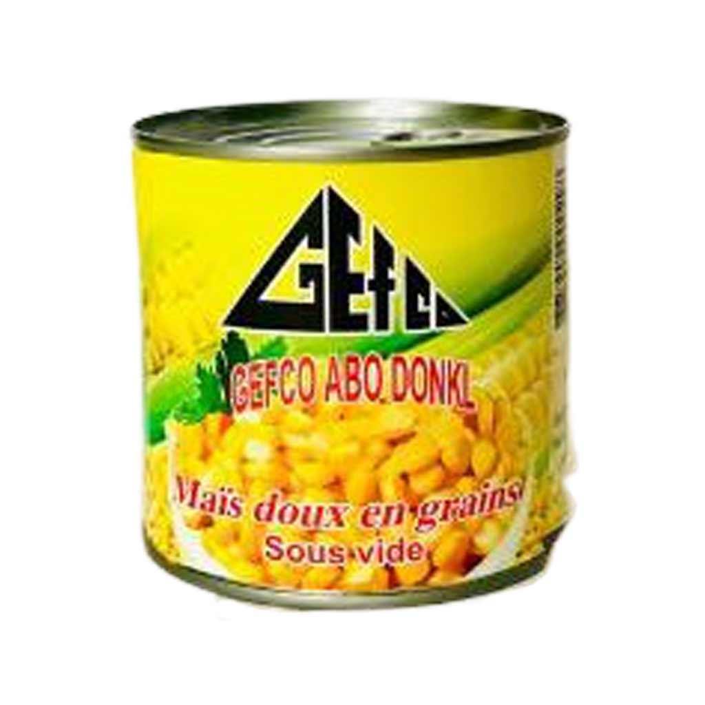 Gefco - Maïs doux en grains - 340g