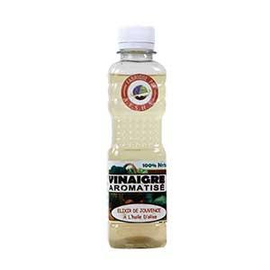 Afsha - Vinaigre aromatisé Elixir de jouvence à l'huile d'olive (tamisé) - 250ml