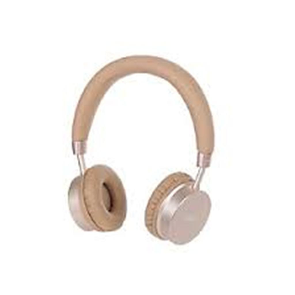 Miniso-Casque Bluetooth H-023 -beige Nude