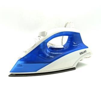 Sokany - Fer à repasser bleu - 1400W