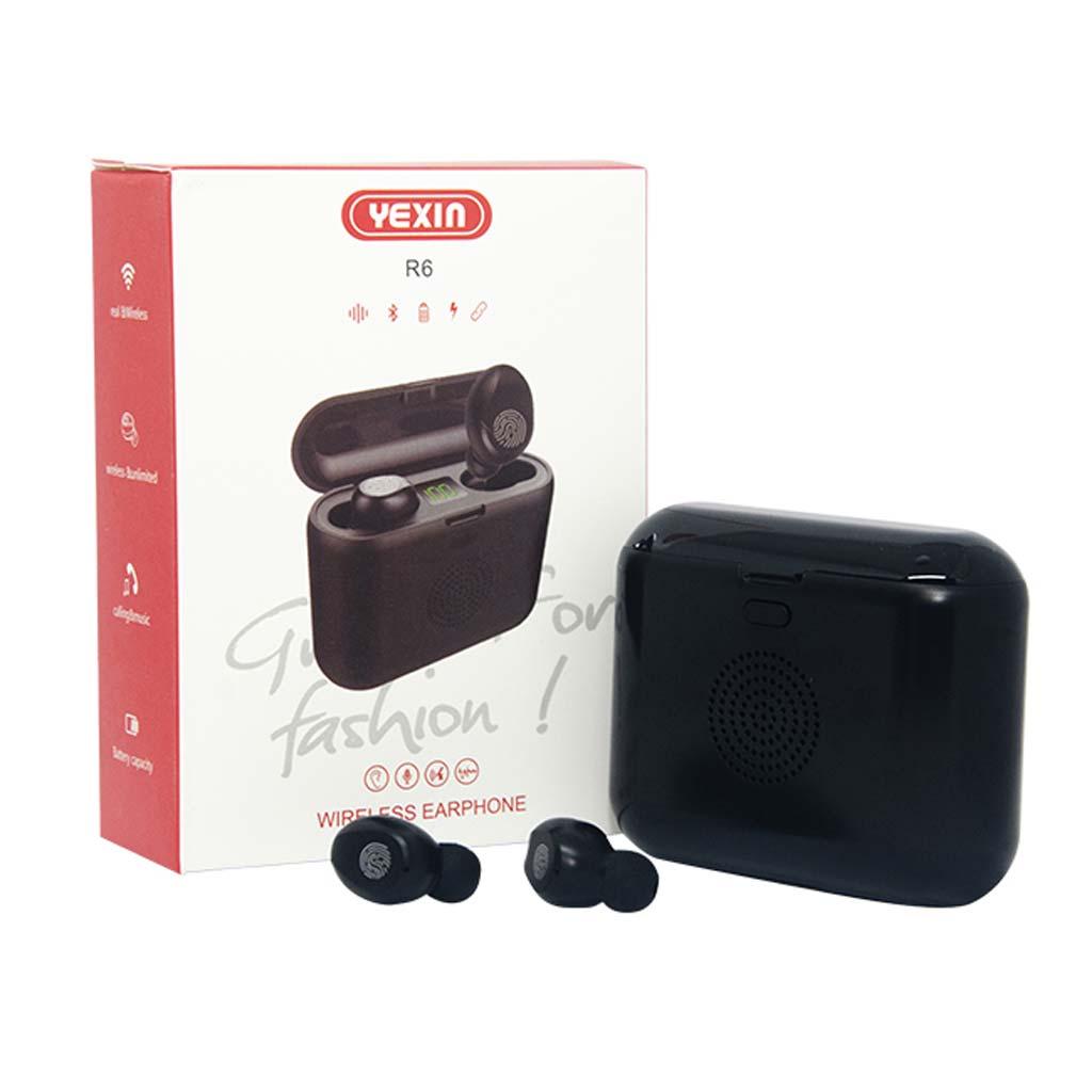 Yexin - Ecouteur R6 avec boîtier de charge