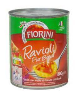 Fiorini - Raviolis pur boeuf 4/4 - 800g