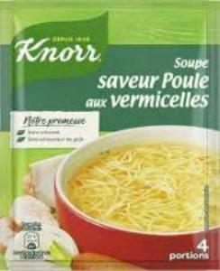 Knorr - Soupe poule vermicelle - 63g