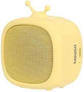 MINISO - Portable TV Wireless Speaker K02 - jaune
