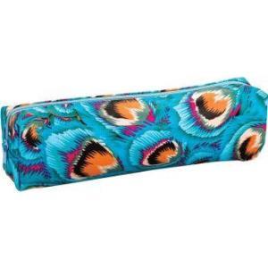 CENTRUM - Trousse Paon Bleu - Rectangle - 21*4*5cm
