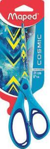 Maped - Ciseaux COSMIC TEENS - Bleu 21 cm