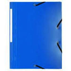 Laureat - Chemise 3 Rabats à Elastique - Bleu