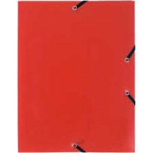 Laureat - Chemise 3 Rabats à Elastique - Rouge