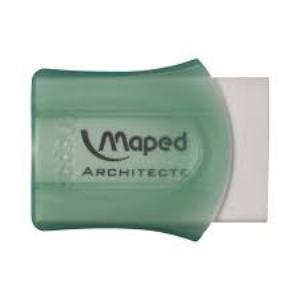 Maped -  Gomme en plastique Architecte - Vert