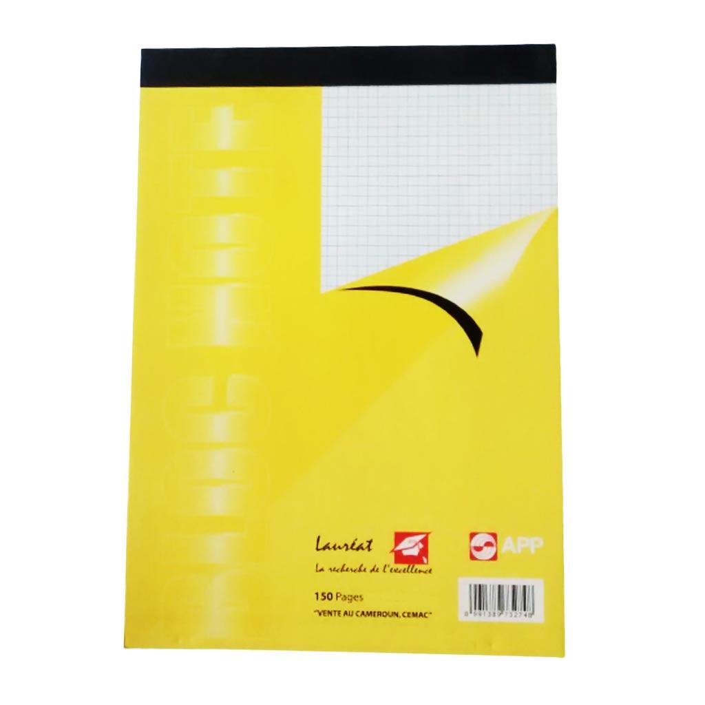 Lauréat - Bloc Note A5 150 Pages