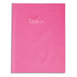 Office - Protège cahier Gm Rose - A4