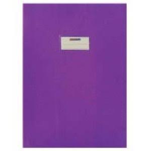 Office - Protège cahier pm Violet - 17x22cm