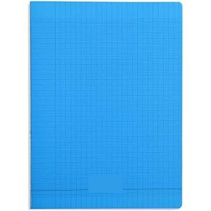 Laureat - Cahier 17x22 couverture plastique Bleu Clair - 48 Pages