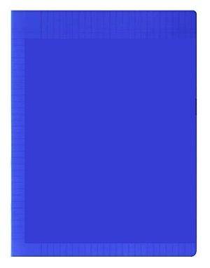 Laureat - Cahier A4 couverture plastique Bleu - 192 Pages