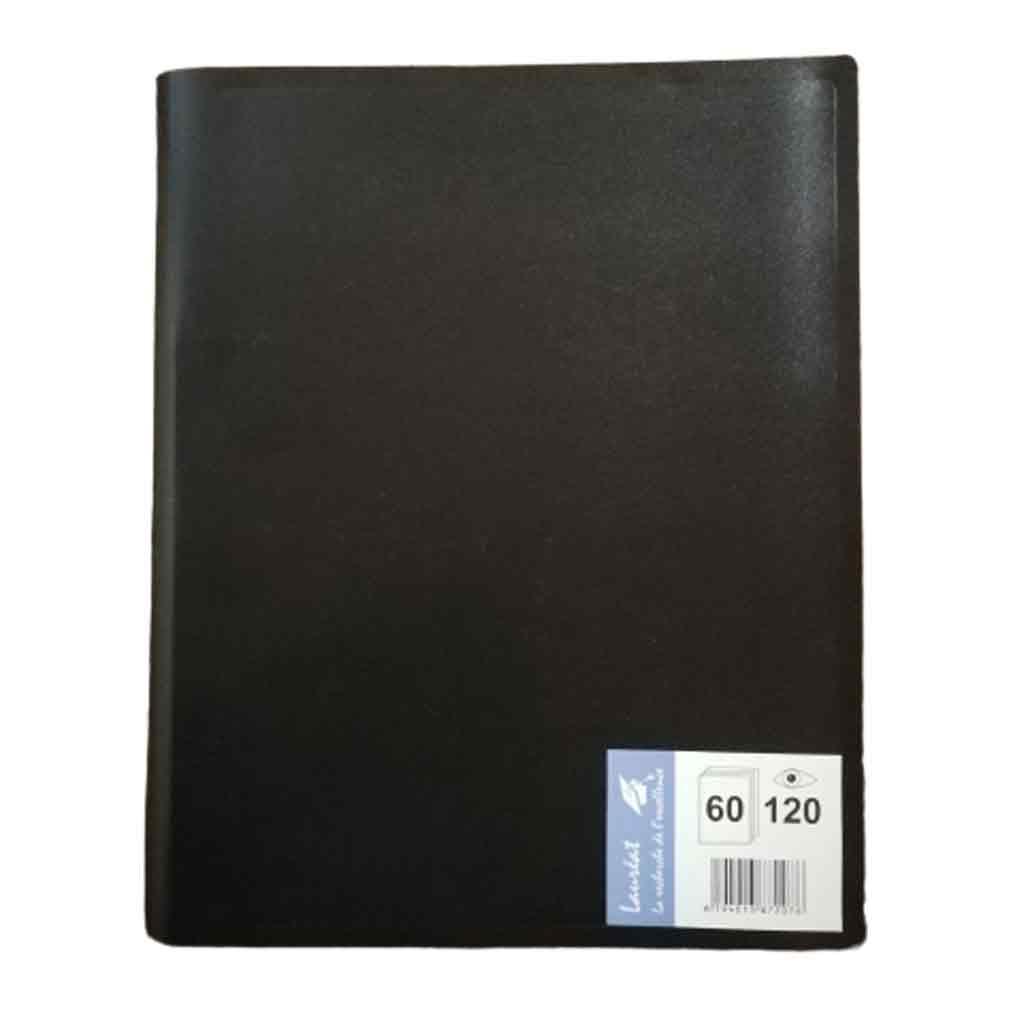 Lauréat - Protège-Document 120 Vues - Noir