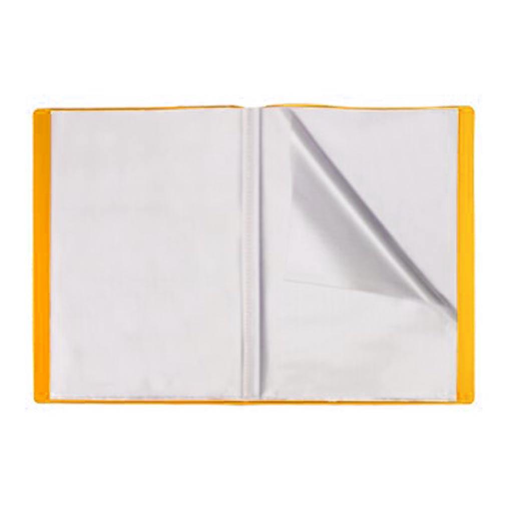 Office Plast - Protège-Document en PP Openline - 40 Vues -Jaune