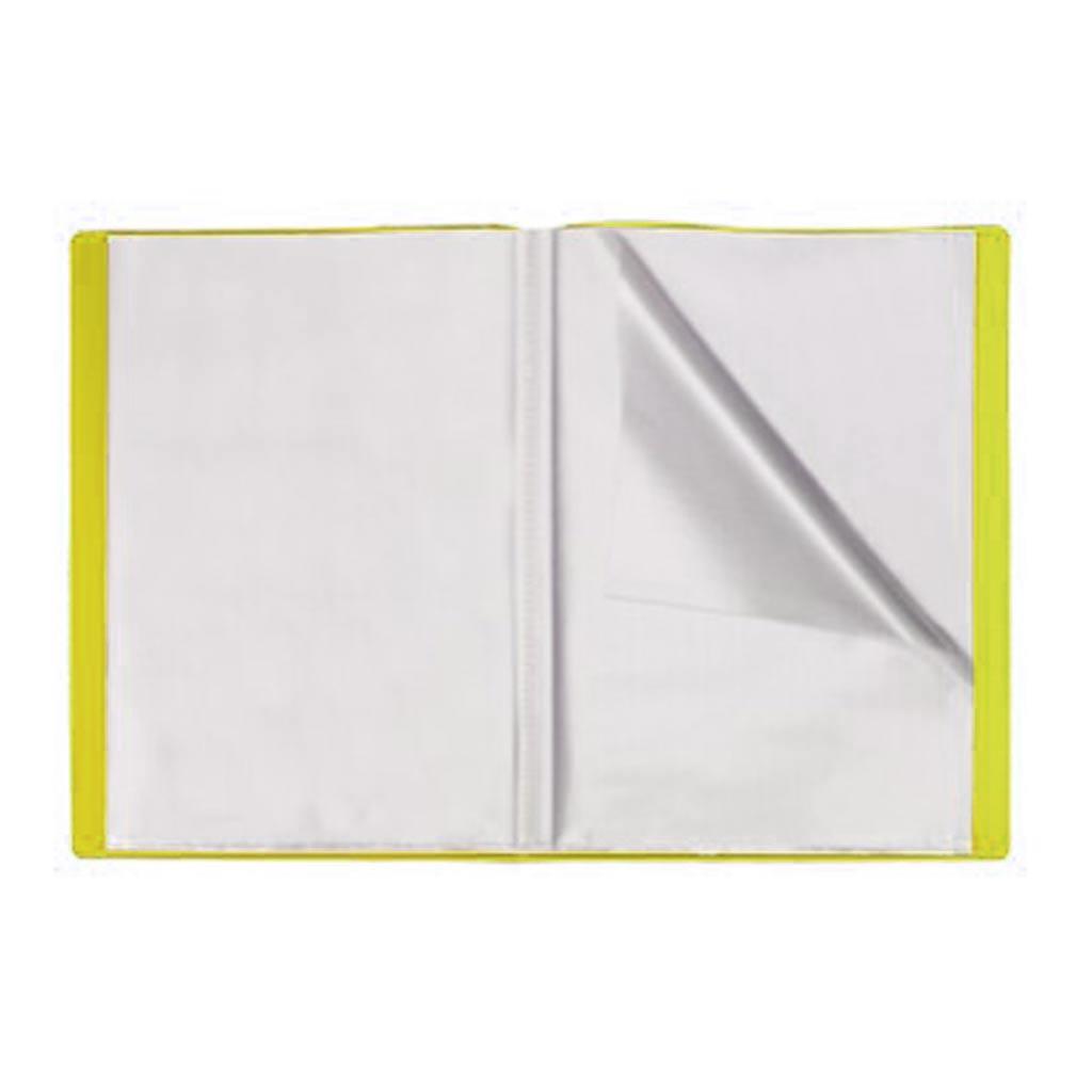 Office Plast - Protège-Document en PP Openline - 60 Vues -Jaune Poussin