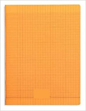 Laureat - Cahier 17x22 couverture plastique Orange - 48 Pages