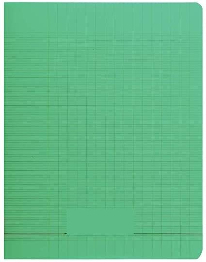 Laureat - Cahier 17x22 couverture plastique Vert - 48 Pages