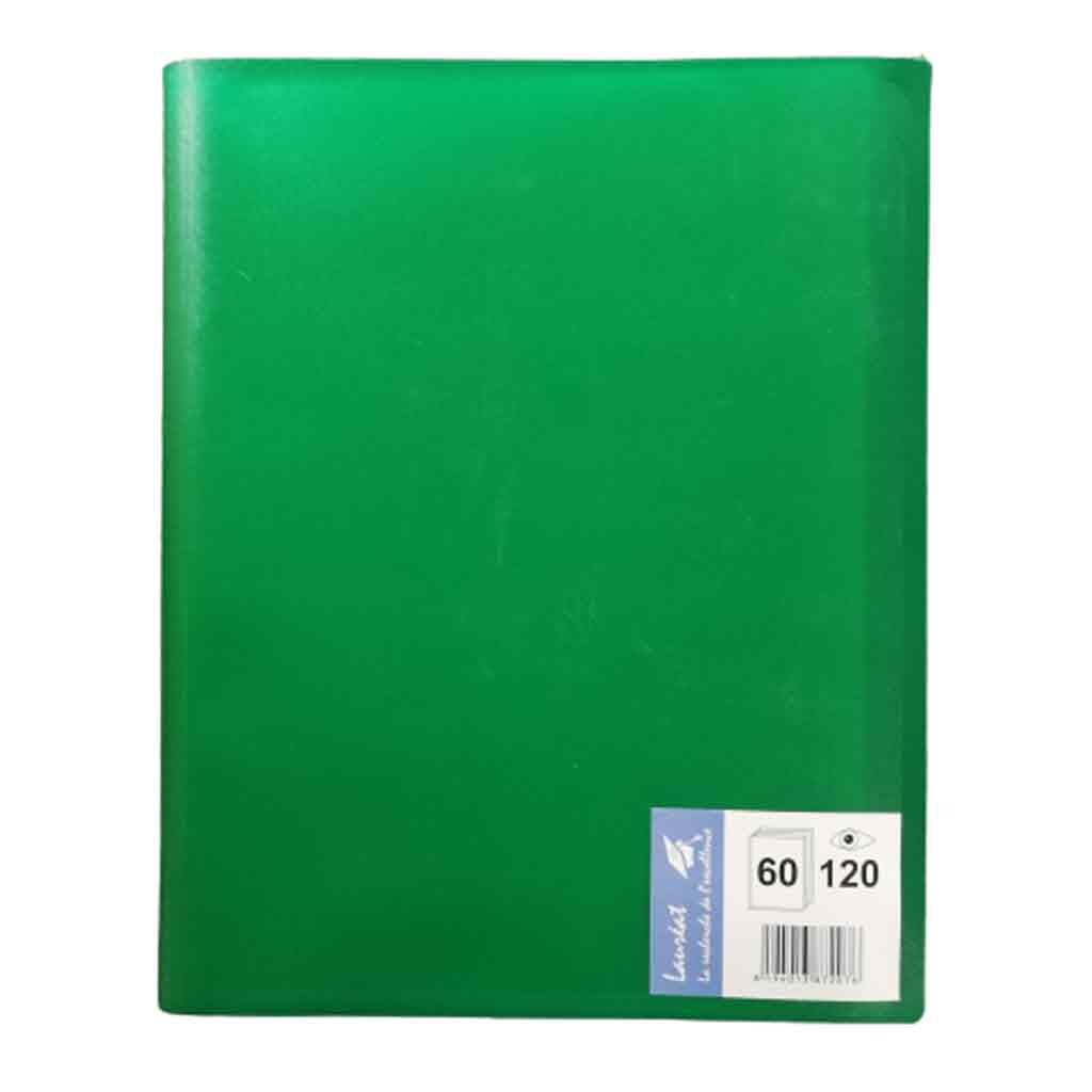 Lauréat - Protège-Document 120 Vues - Vert