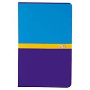Conquerant - Carnet piqûre 9x14 cm Bleu/Violet - 96 pages