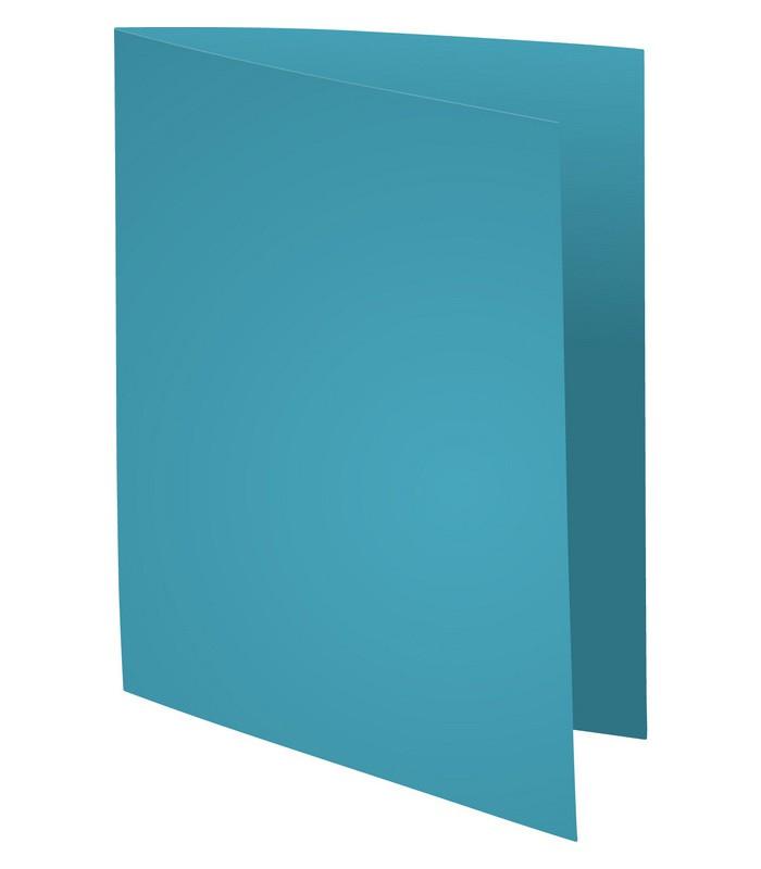 Chemise cartonée 24 x 32 - Bleu clair