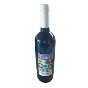Vin rouge 5sensi Cabernet - 75cl