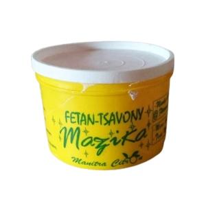 MAZIKA - Pate de savon - Parfum Citron - 500g