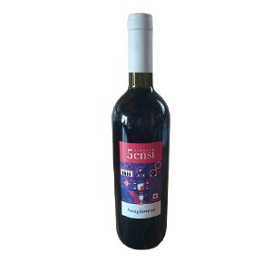 Vin Rouge 5sensi  Sangiovese del  Rubicone - 75cl