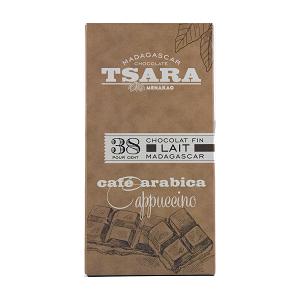 Tsara - Chocolat tablette Lait 38% Arabica