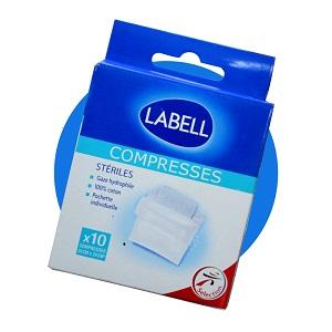 Labell - compresses - gaze stéril