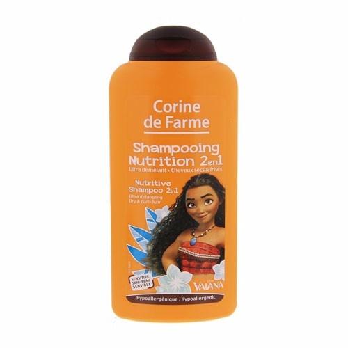 Corine de farme - Shampoing nutrition 2 en 1 (Ultra démêlant, cheveux secs et frisés) - 250 ml