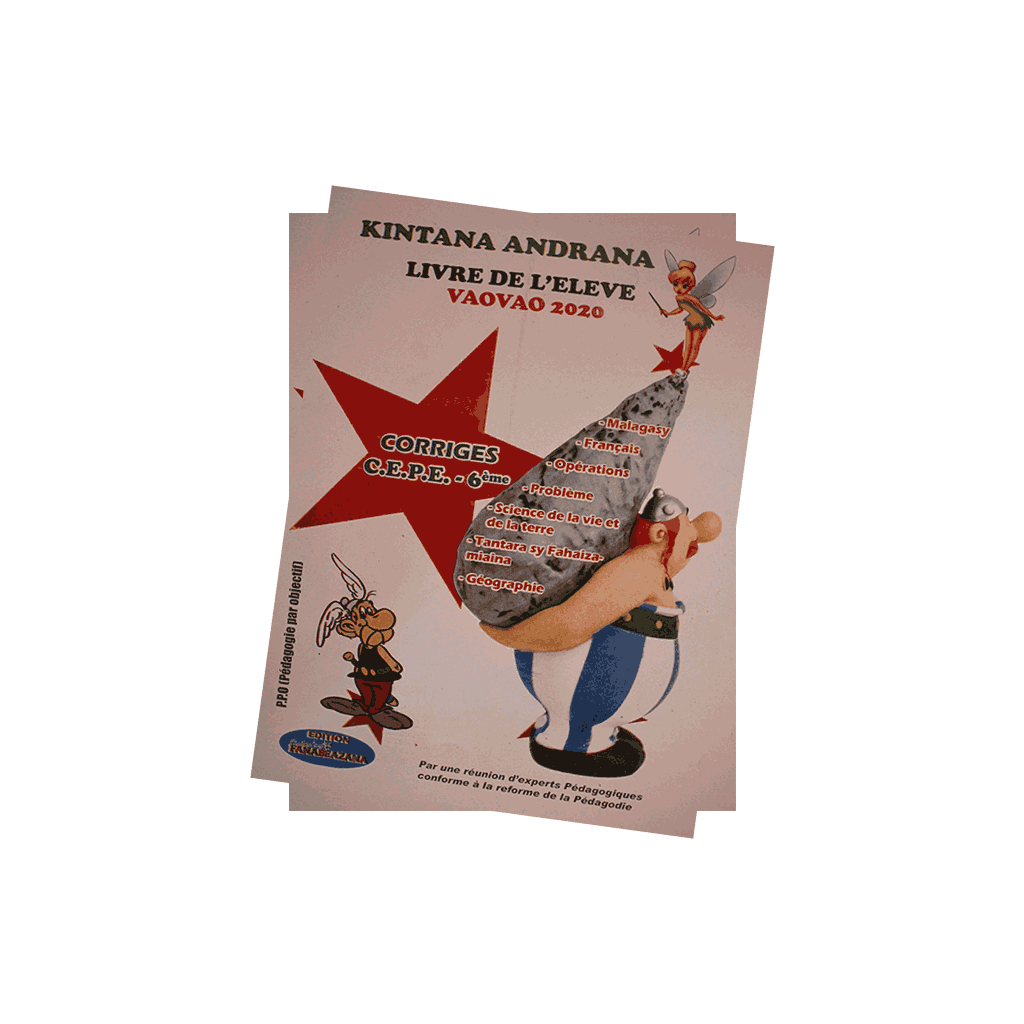 Kintana - CEPE 6eme Corrig�s types - Edition 2020