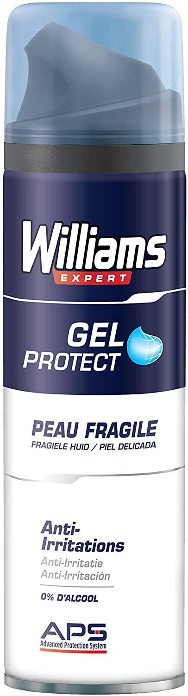 Williams - Gel à Raser Peau fragile - 200 ml