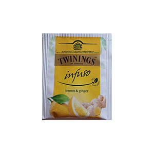 The Twinings - Citron, gingembre - 10mg