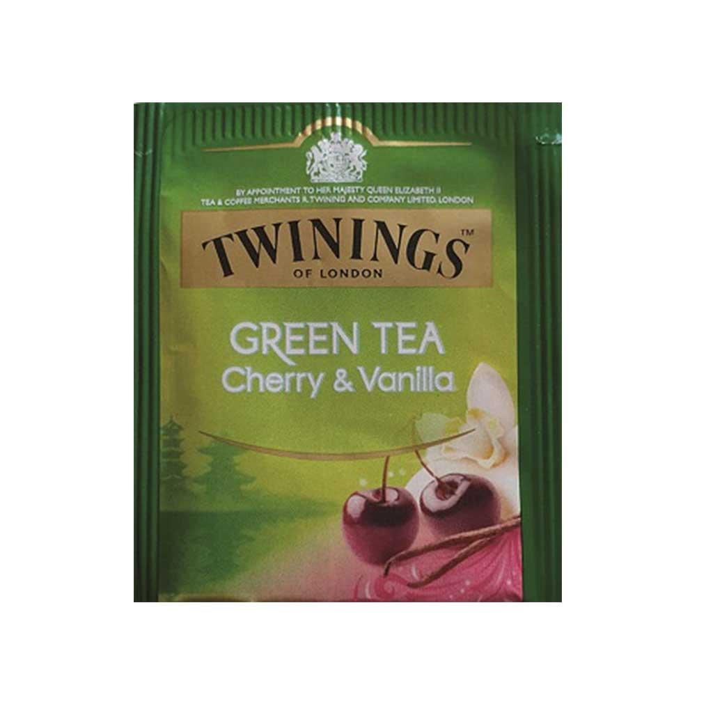 The Twinings - cerise , vanille - 10mg