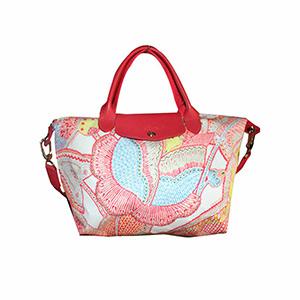 Longchamp - Sac à main Le pliage - Fleurs de ravello