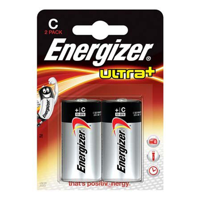 Energizer -  Plaquette de 2 piles LR14