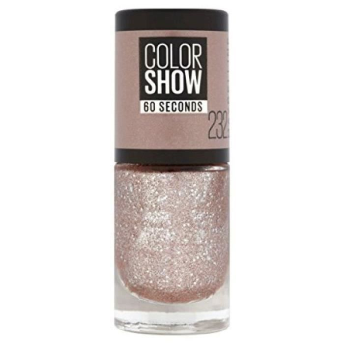 Maybelline - Vernis à ongles Colorshow (232) - Rose Chic crystalisé