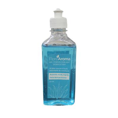 Flore Aroma - Gel désinfectant à l'huile essentielle de ravintsara et Aloe vera - 250ml