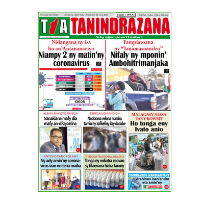 TIA TANINDRAZANA 08-06-2020