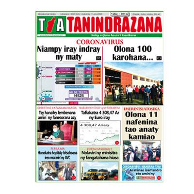 TIA TANINDRAZANA 11-06-2020