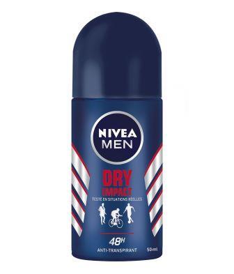 NIVEA Men - déo BILLE Dry impact - 50ML
