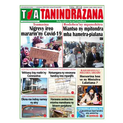 TIA TANINDRAZANA 19-06-2020