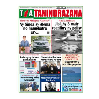 TIA TANINDRAZANA 25-06-2020