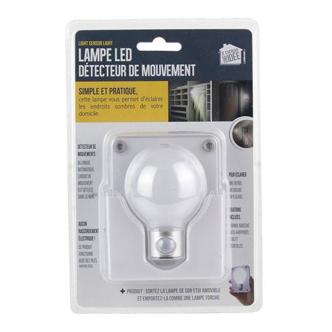 LAMPE LED - Détecteur de mouvement