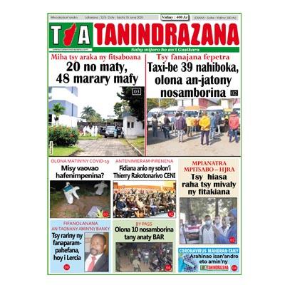 TIA TANINDRAZANA 30-06-2020