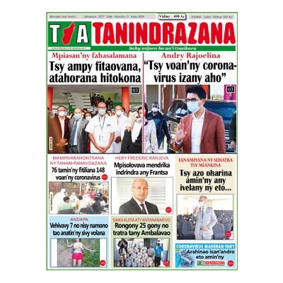 TIA TANINDRAZANA 01-07-2020