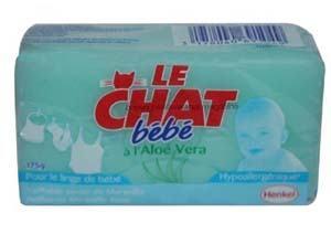 Le Chat - Savon pour bébé à l'Aloe vera